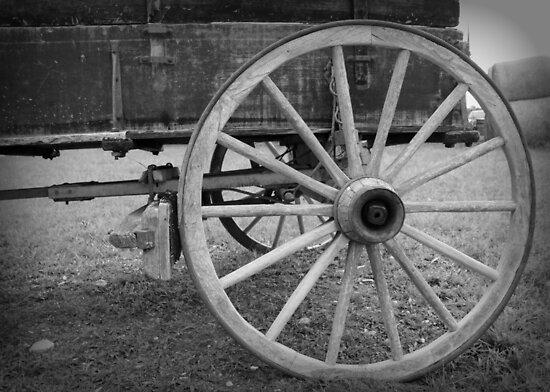 Wagon Wheel by Jayhawkgirl