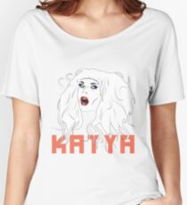 Crying Katya alt. Version Women's Relaxed Fit T-Shirt