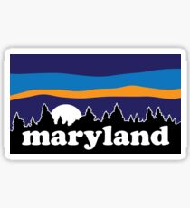 Maryland Moonscape Sticker