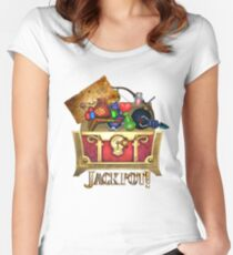 Link's Jackpot! Women's Fitted Scoop T-Shirt