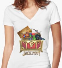 Link's Jackpot! Women's Fitted V-Neck T-Shirt