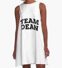 Team Dean A-Line Dress