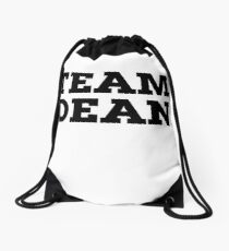 Team Dean Drawstring Bag