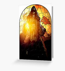 Azrael as the Hermit Greeting Card