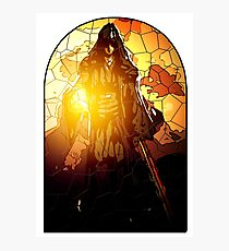 Azrael as the Hermit Photographic Print