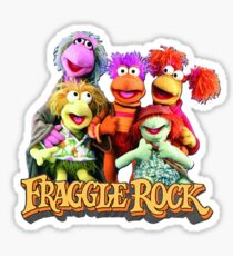 Fraggles! Sticker