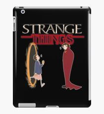 Strange Things iPad Case/Skin