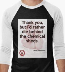V for Vendetta Quote Men's Baseball ¾ T-Shirt