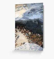 Rainbow Beach Rockpool Greeting Card