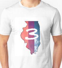 Chance the Rapper IL (white) Unisex T-Shirt