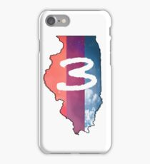 Chance the Rapper IL (white) iPhone Case/Skin
