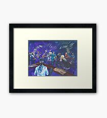 Jam night with Chris Cain Framed Print