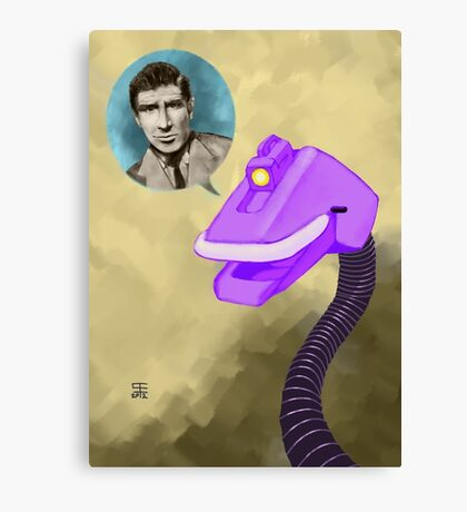 Richard Basehart! Canvas Print
