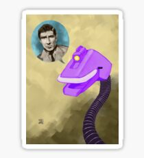Richard Basehart! Sticker
