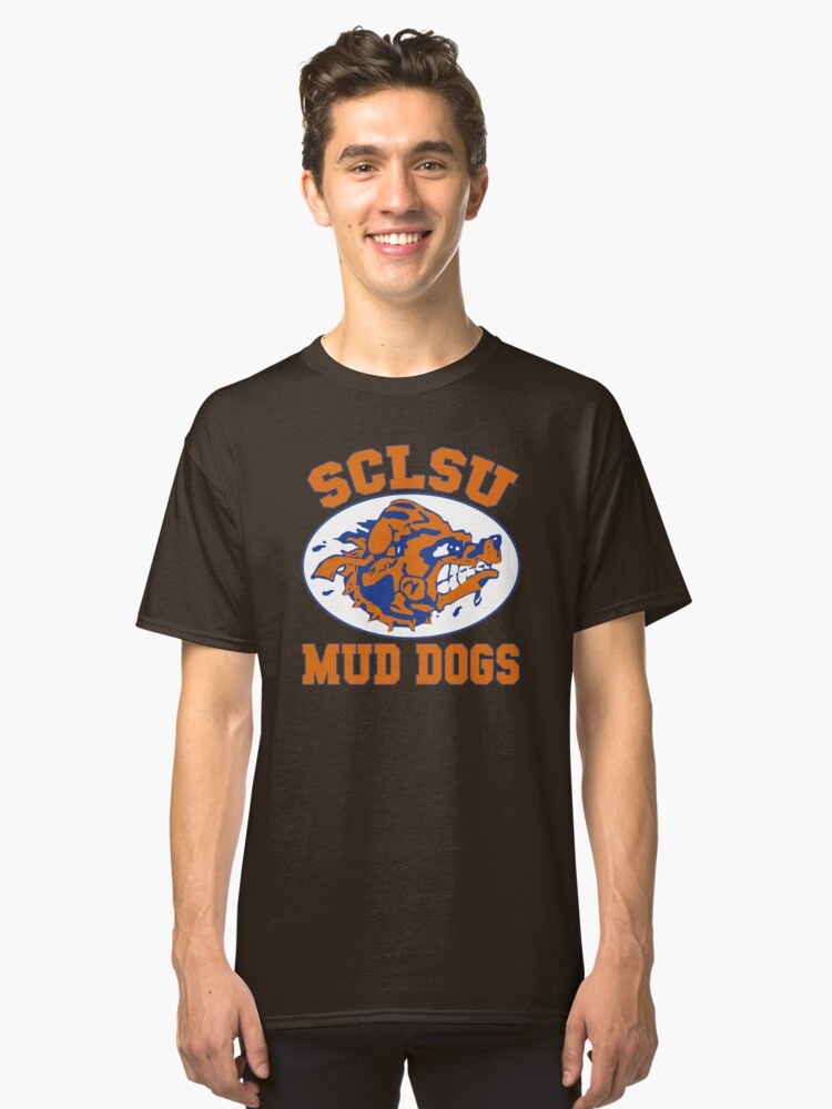 SCLSU Mud Dogs Classic T-Shirt Front