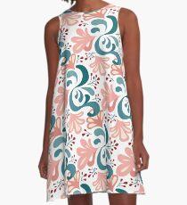 Posy – green A-Line Dress