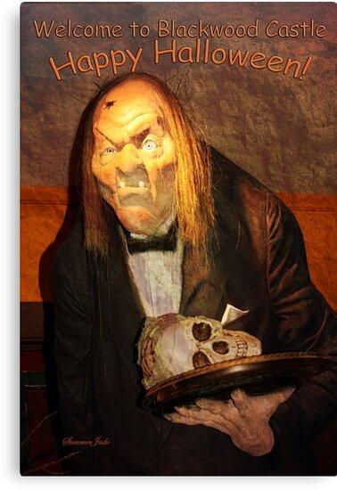 Welcome to Blackwood Castle Halloween by SummerJade