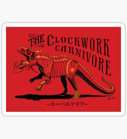 Clockwork Carnivore (Red EUPARKERIA-TYPE) Sticker