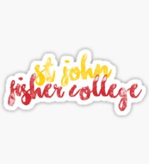 St. John Fisher College Sticker