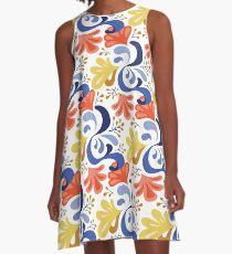 Posy – blue A-Line Dress