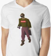 Supreme Runescape Character  Men's V-Neck T-Shirt