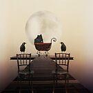 The Sitters... by Karen  Helgesen