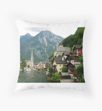 Salzkammergut, Austria Throw Pillow