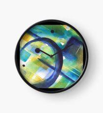 Pierced Clock