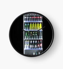 Soft Drinks Cabinet Clock
