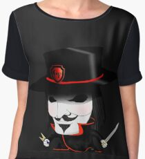 Guy Fawkes Women's Chiffon Top