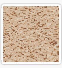 Camouflage: Arid Desert IV Sticker