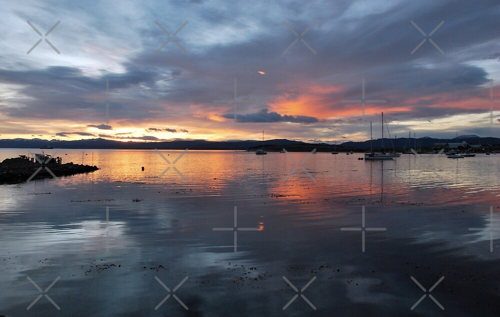 Painted Sky over Ushuaia by Alessandro Pinto