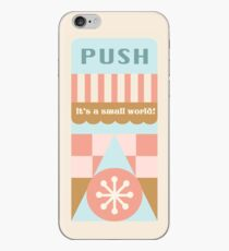 Small World Trash Can Design iPhone Case