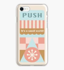 Small World Trash Can Design iPhone Case/Skin