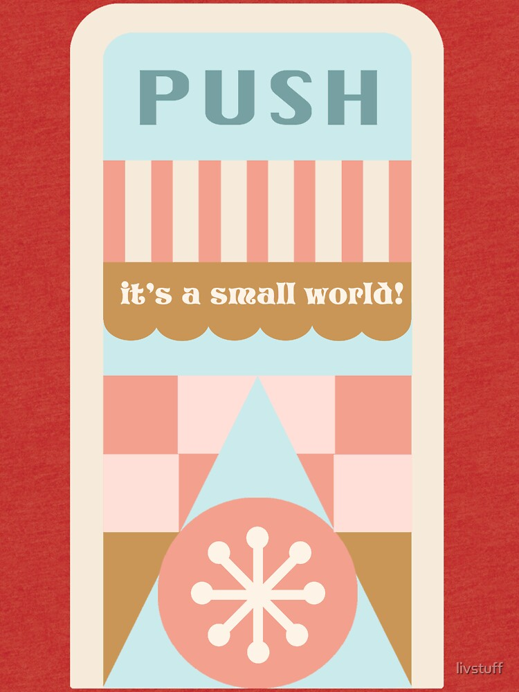 Small World Trash Can Design by livstuff