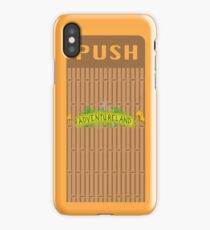Adventureland Trash Can Design iPhone Case