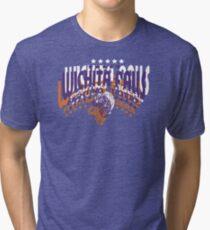 Rose Tyler's Wichita Falls Fighting Tigers Shirt Tri-blend T-Shirt