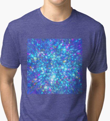 Winter #fractal art Tri-blend T-Shirt