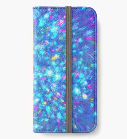 Winter #fractal art iPhone Wallet