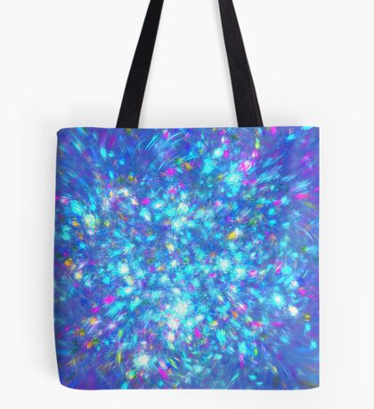Winter #fractal art Tote Bag