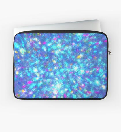 Winter #fractal art Laptop Sleeve