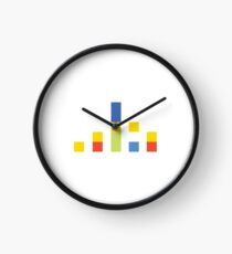 The Simpsons Minimalistic Family Clock