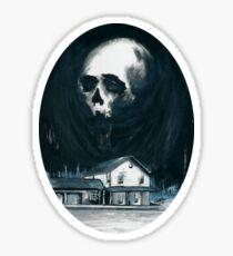 Begone Evil Spirit Sticker