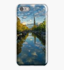 Prinsengracht reflections. iPhone Case/Skin