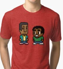 Troy and Abed Tri-blend T-Shirt