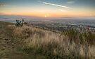 First light Blackhill, Malvern, England by Cliff Williams