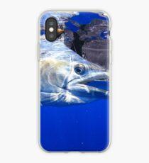 Schwarzer Marlin iPhone-Hülle & Cover