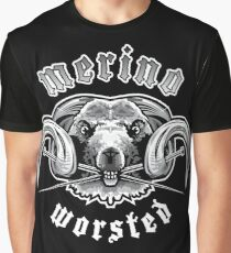 Heavy Metal Knitting - Merino - Worsted Graphic T-Shirt
