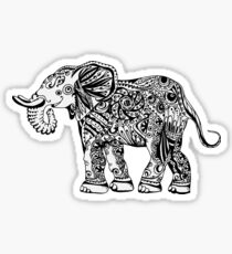 lucky charm.  elephant Sticker