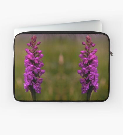 Fragrant Orchid, Dun Eochla, Inishmore Laptop Sleeve